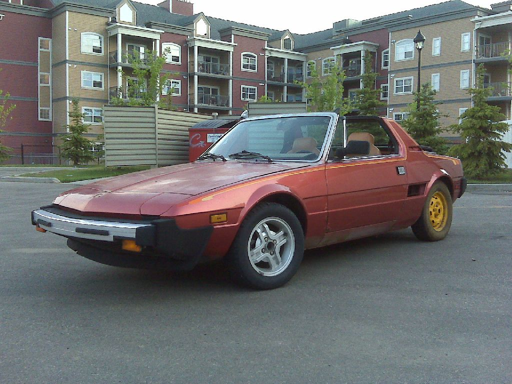 fiat x 1/9 pictures #13