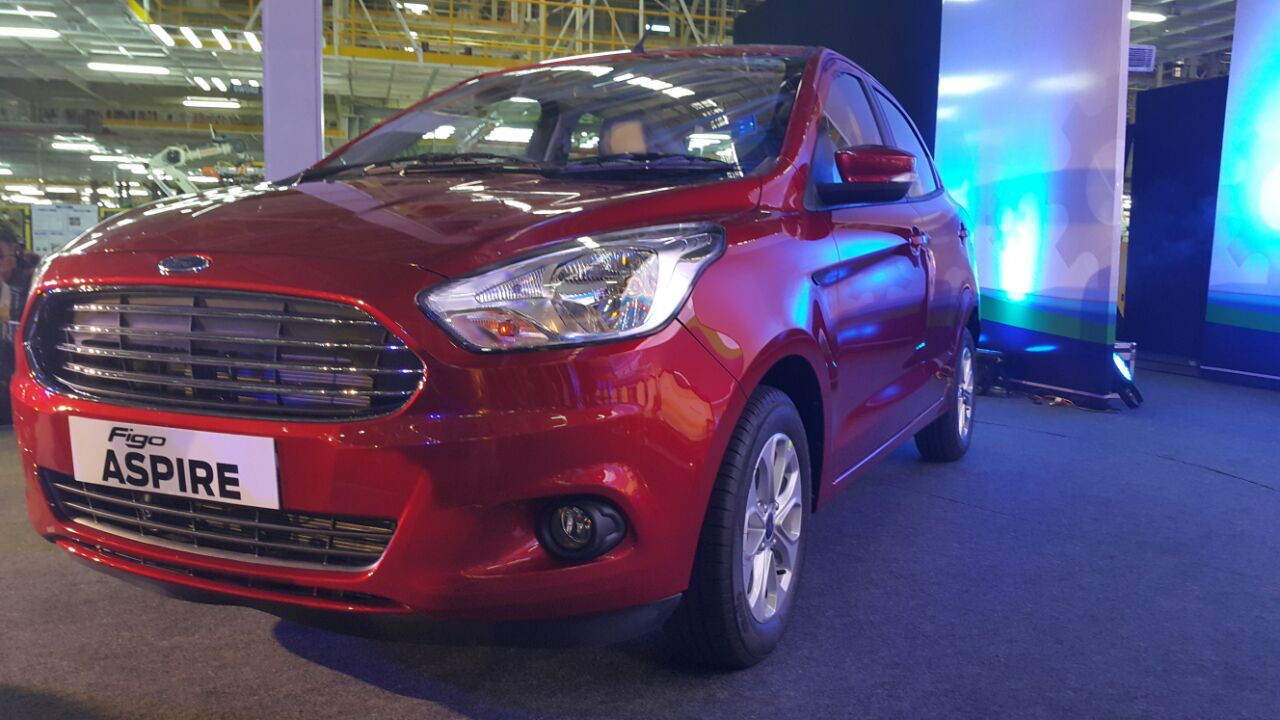 ford aspire images