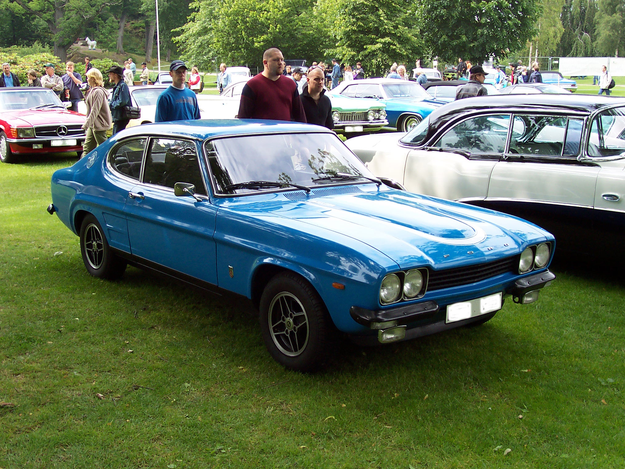 ford capri pictures