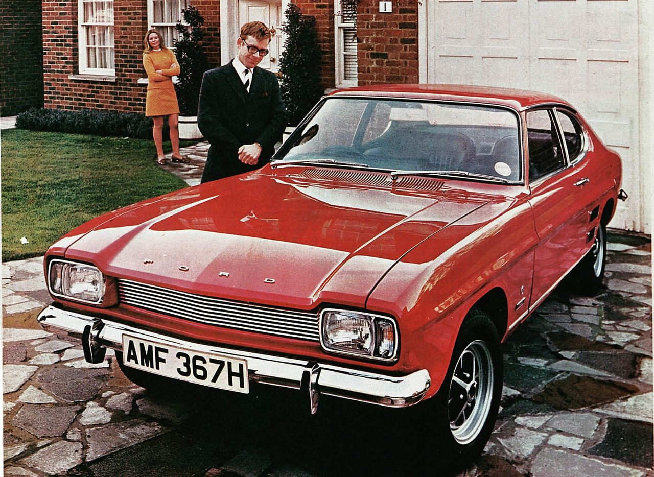 ford capri seriess
