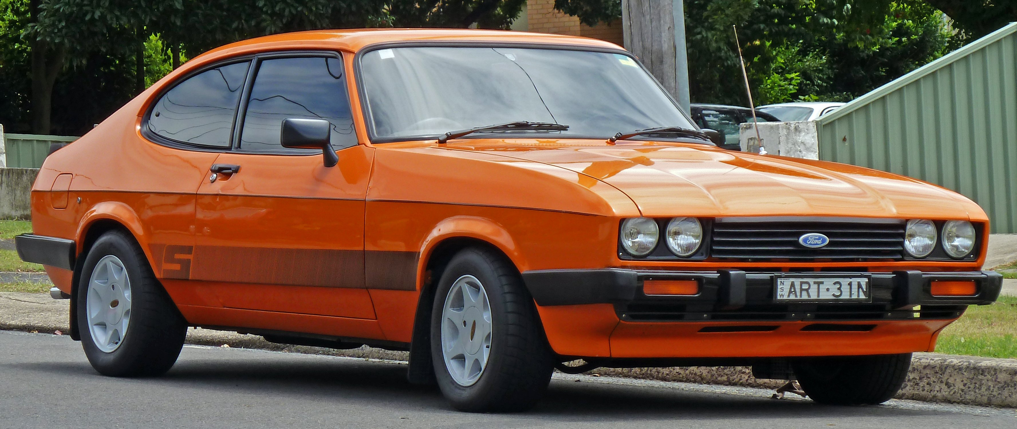 ford capri wallpaper #2
