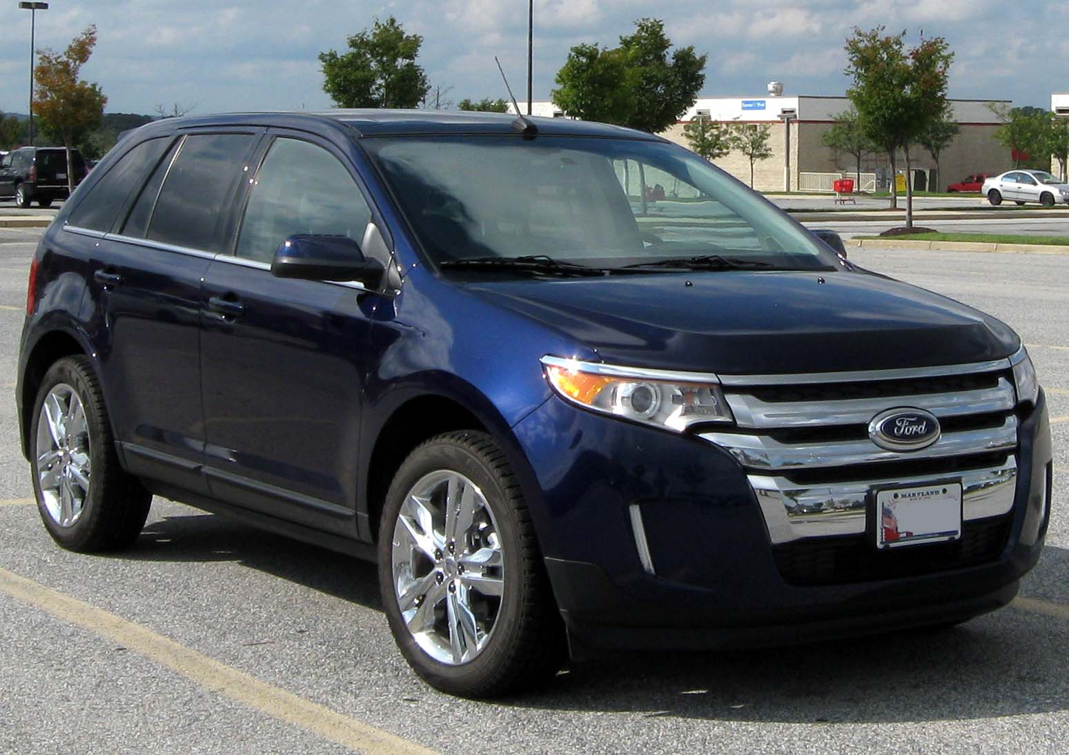 Ford Edge Photo Gallery