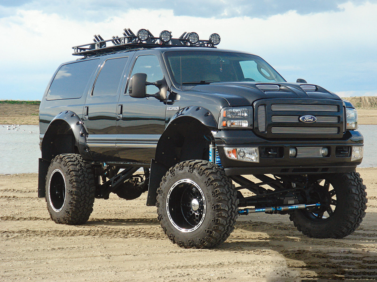 ford excursion pictures