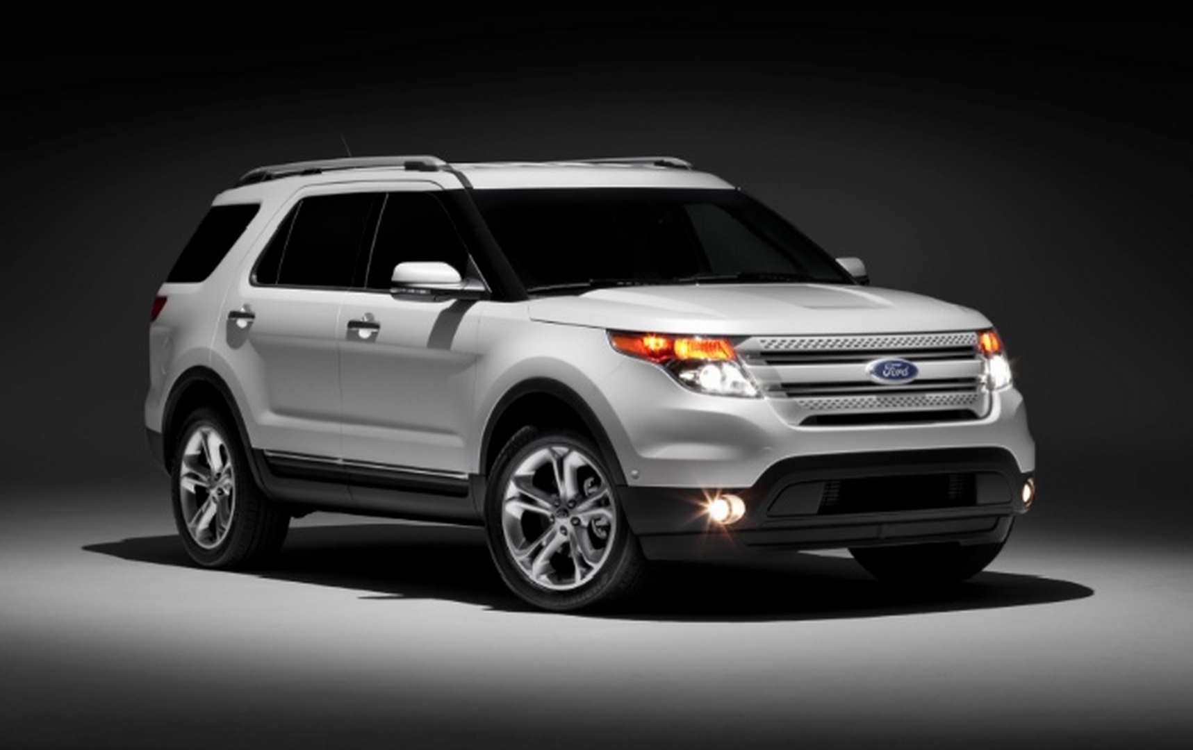 White 2016 ford expedition