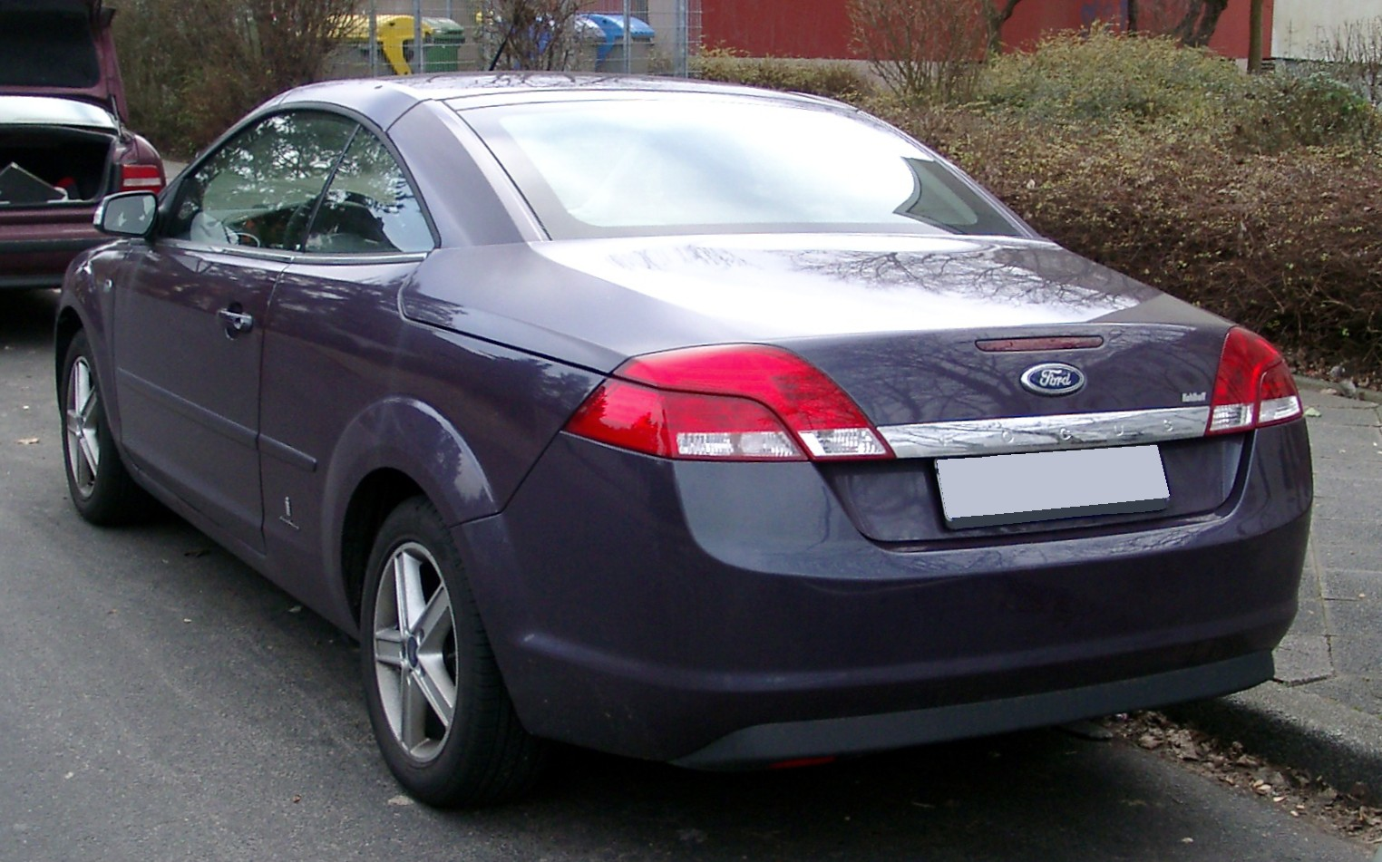 ford focus coupe cabriolet ii 2008 models