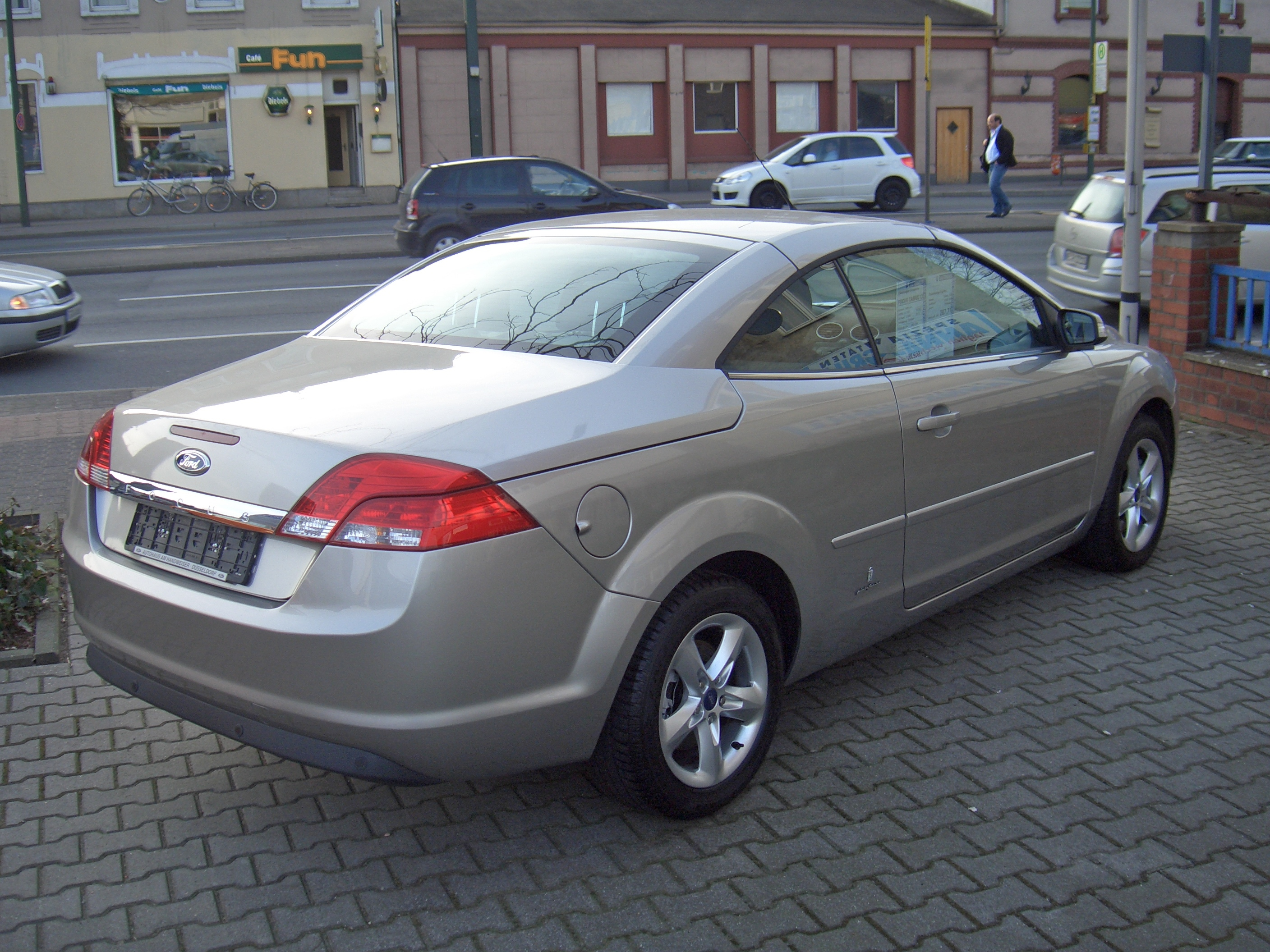 ford focus coupe cabriolet ii 2008 pics