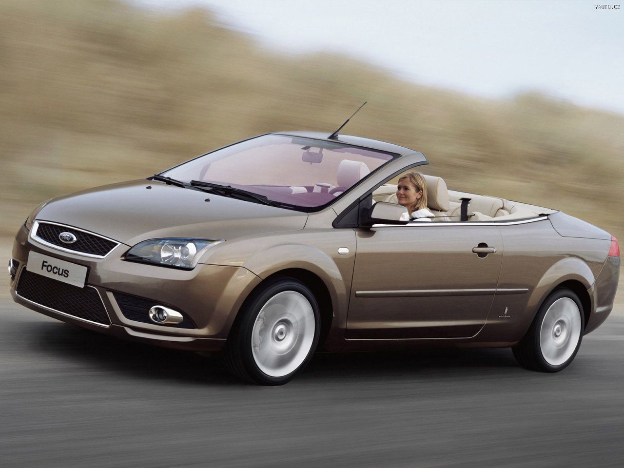 ford focus coupe cabriolet ii 2008 wallpaper