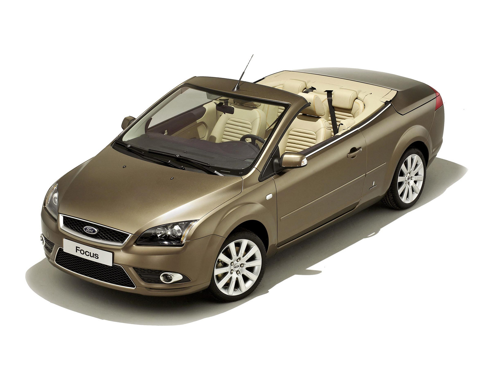 ford focus coupe cabriolet ii 2009 wallpaper