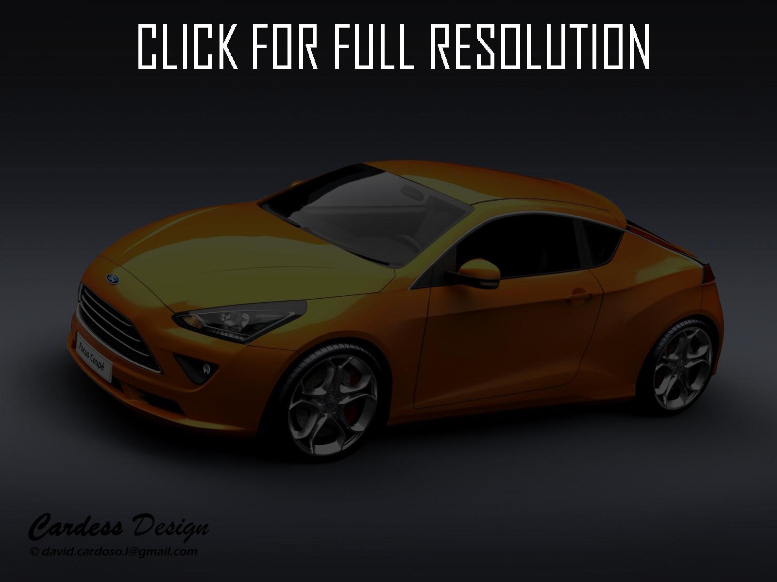 ford focus ii coupe 2012