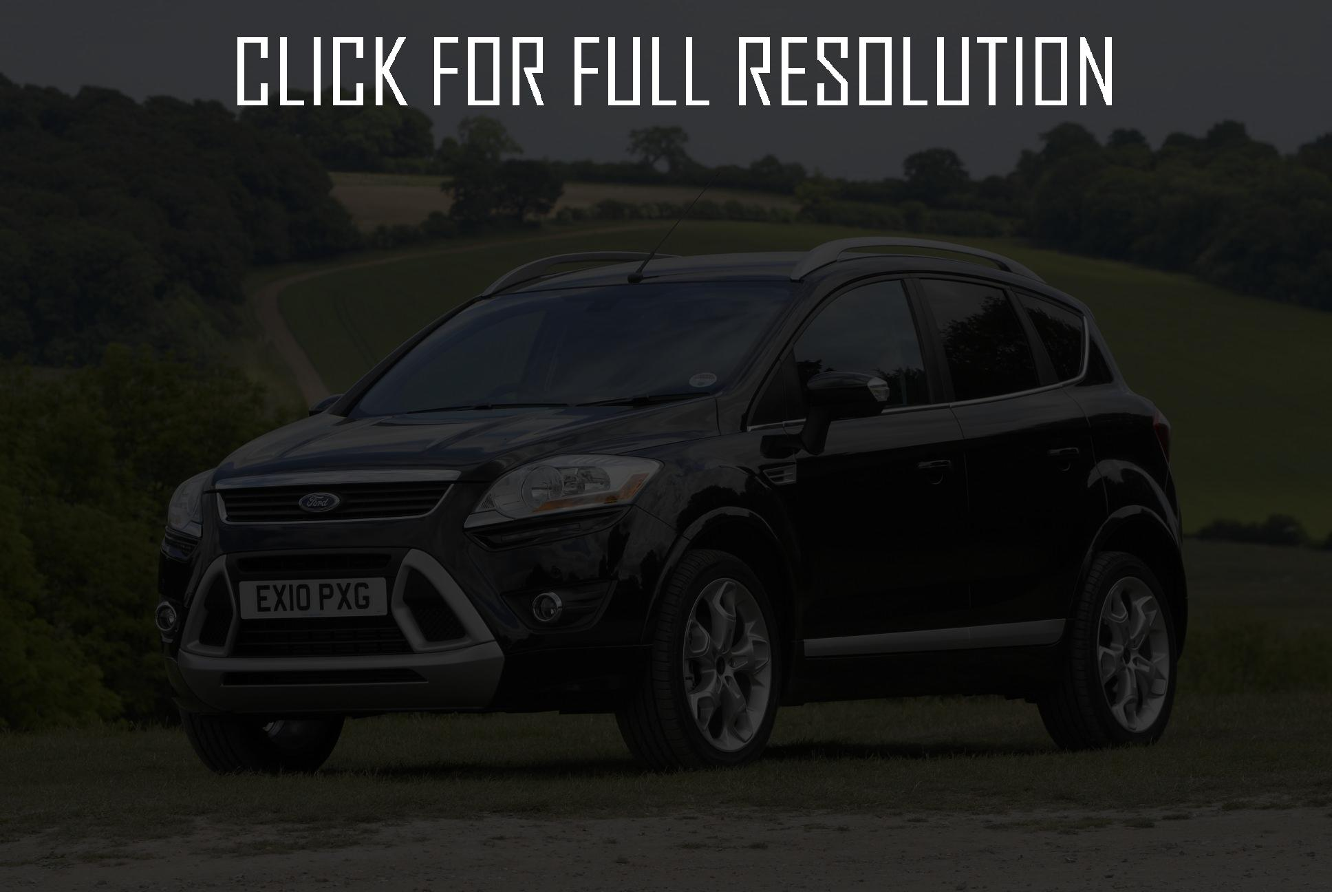 ford kuga 2011 pictures #2