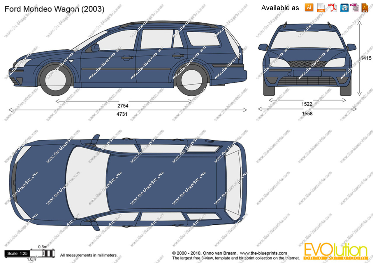 2005 Ford Mondeo iii wagon – pictures, information and specs