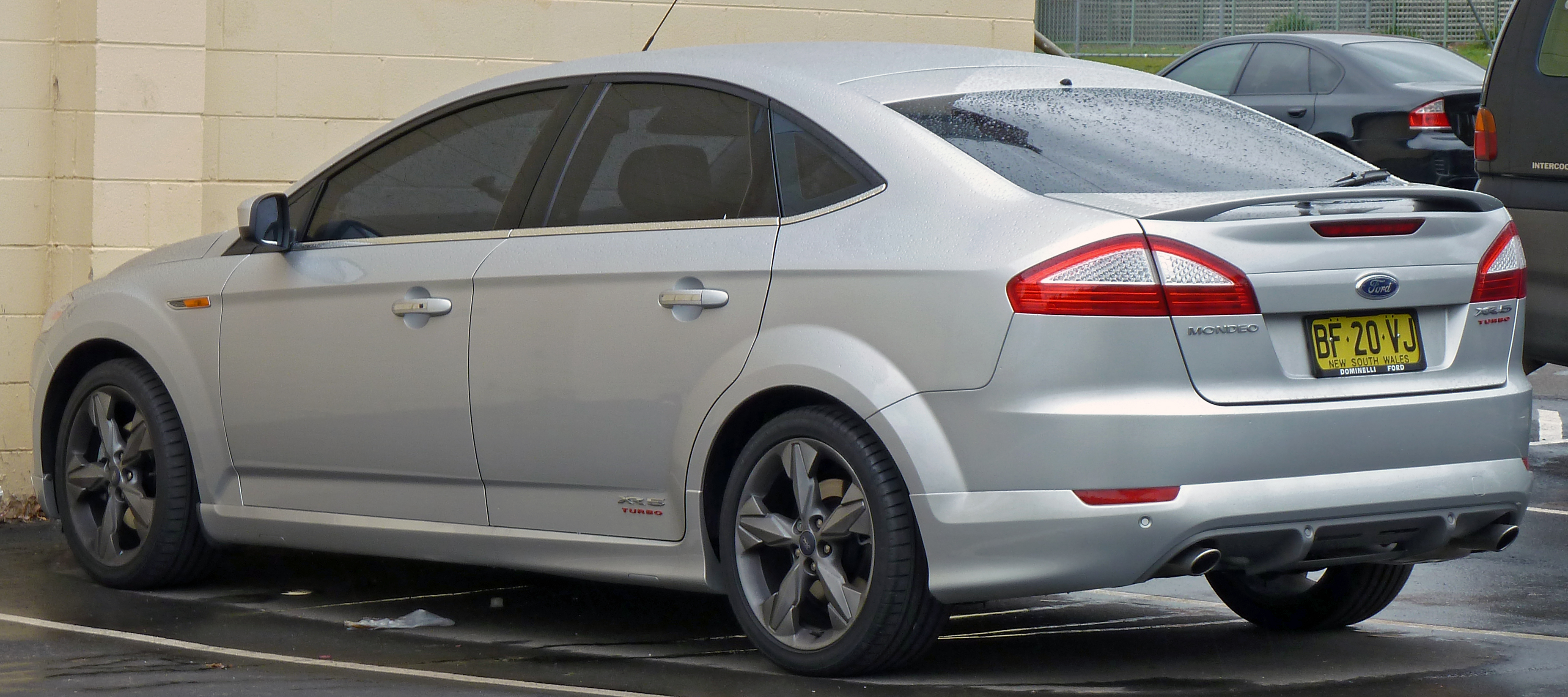 2008 Ford Mondeo iv hatchback – pictures, information and