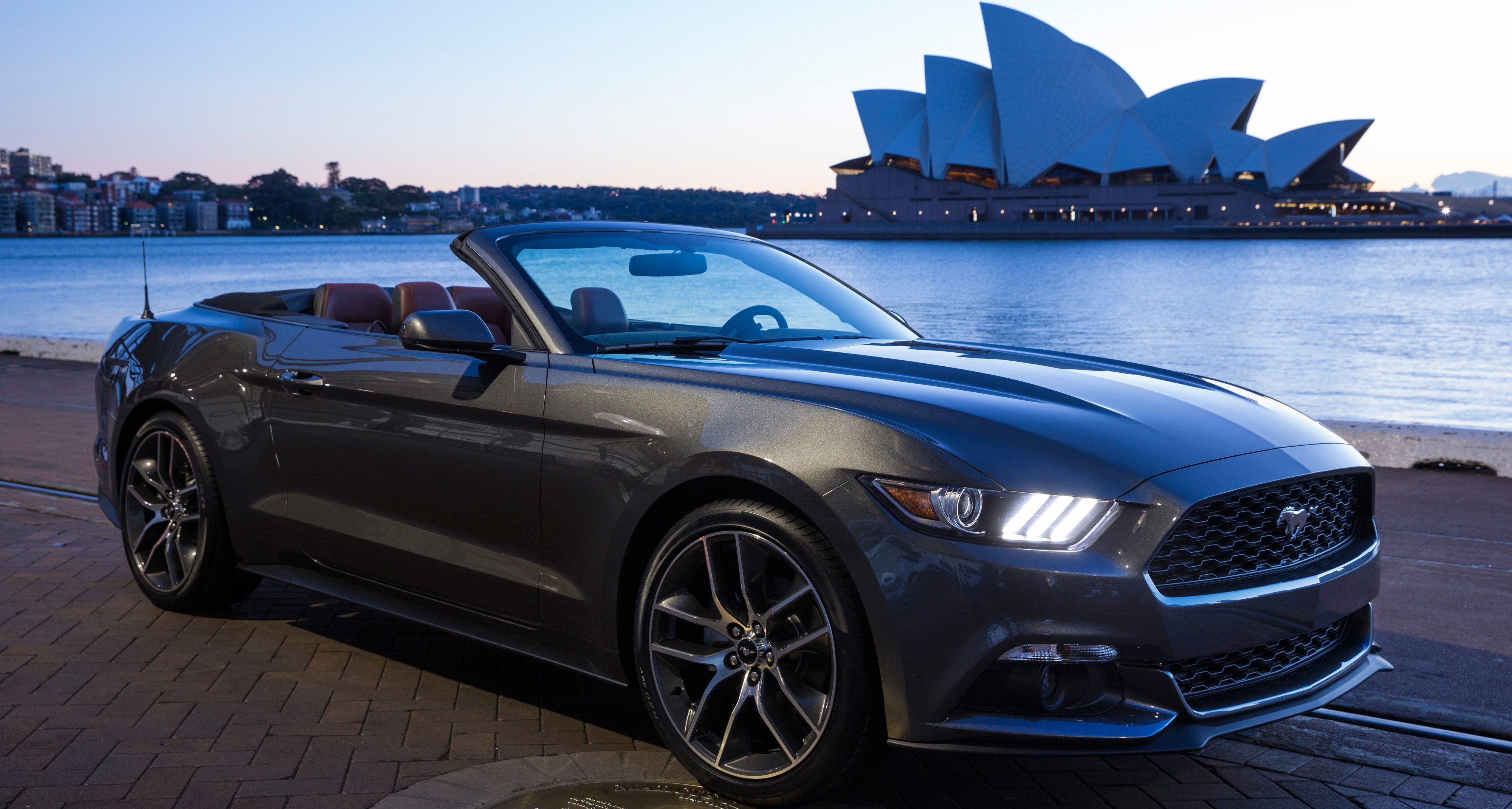 ford mustang convertible v 2015 pictures 11 - 2015 Ford Mustang Gt Convertible Black