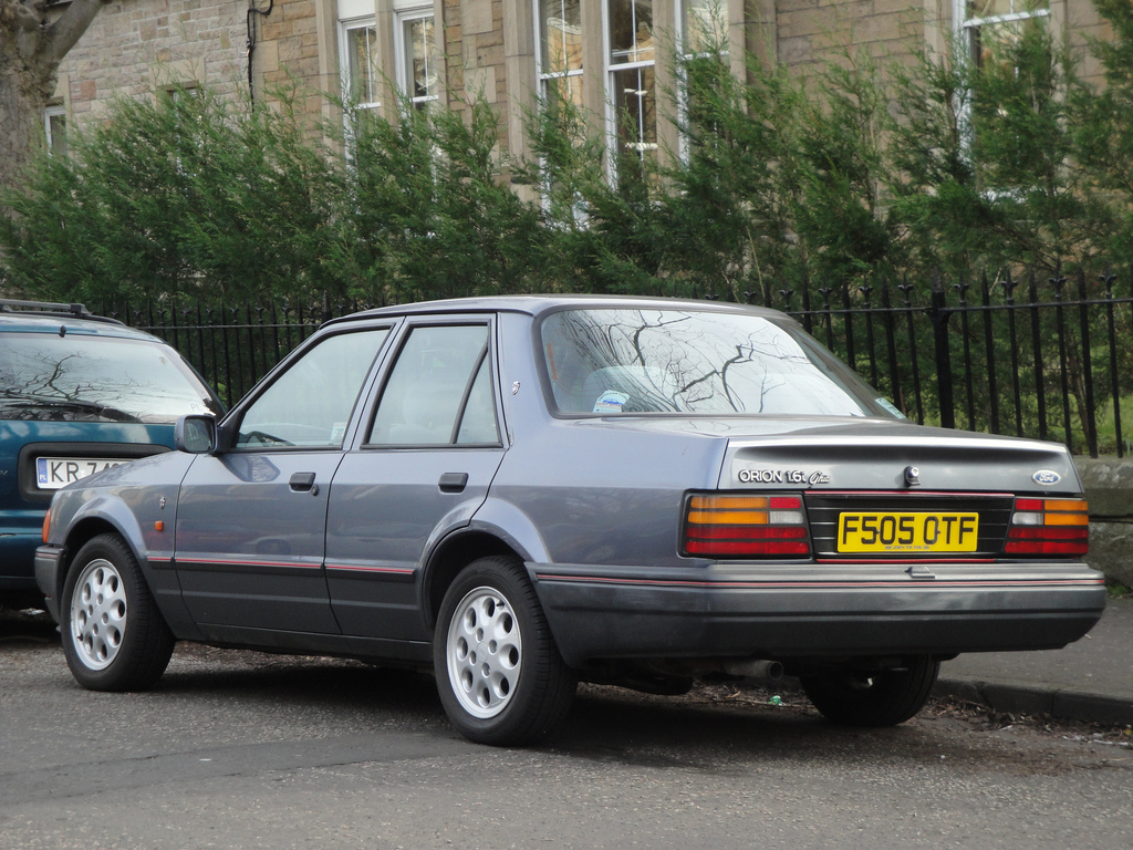ford orion pics #14