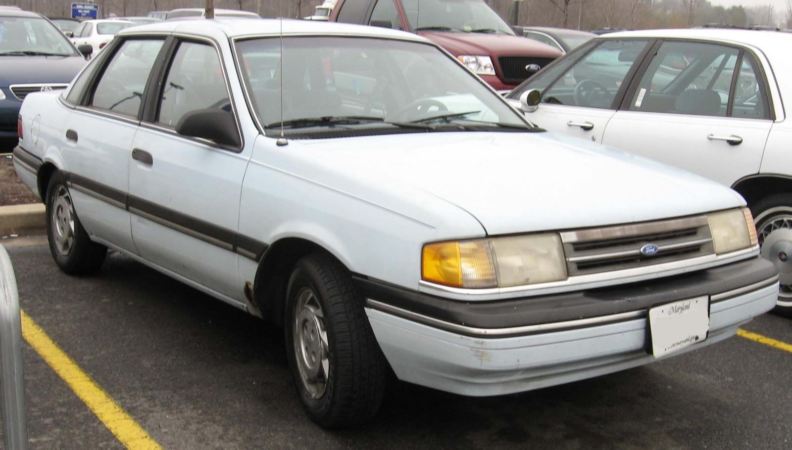 1991 Ford Tempo Coupe Pictures Information And Specs