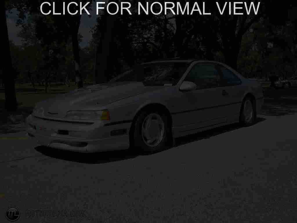 ford thunderbird 1991 pictures