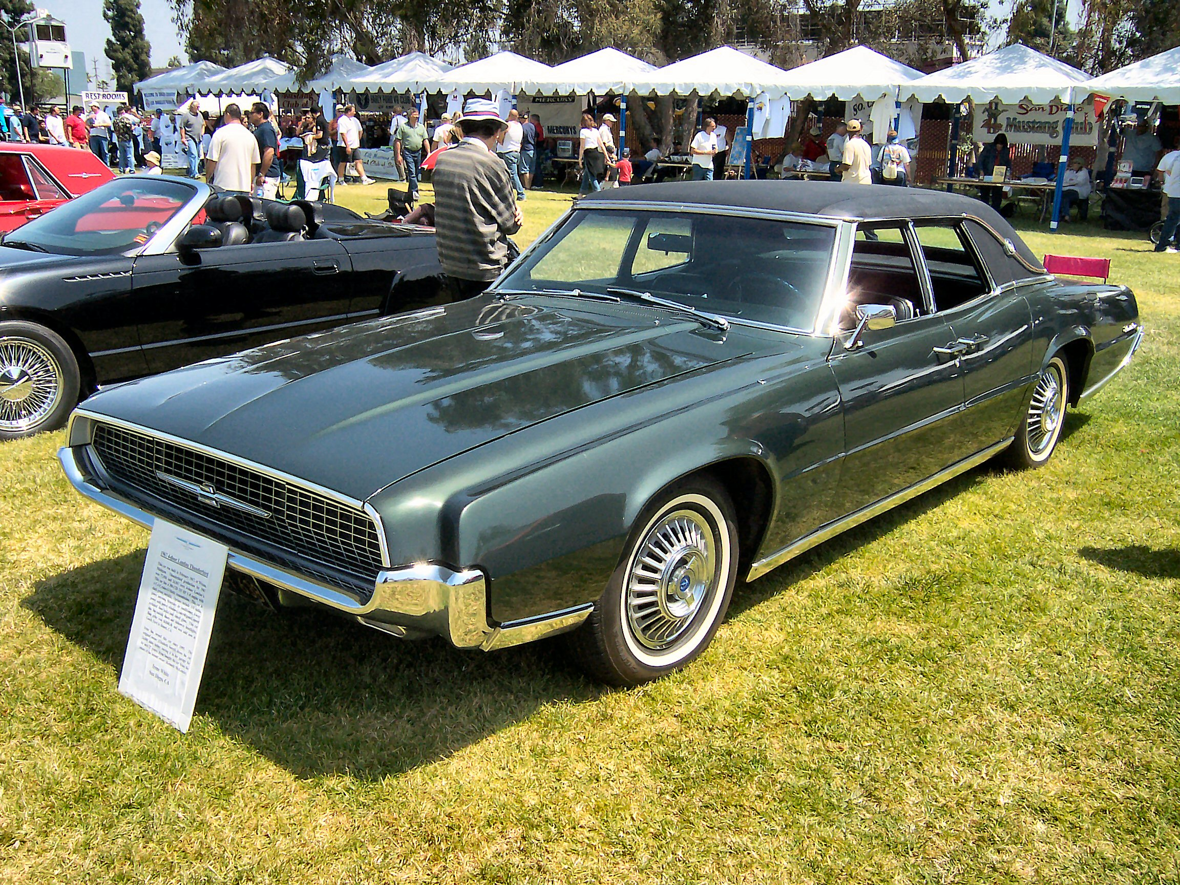 ford thunderbird seriess