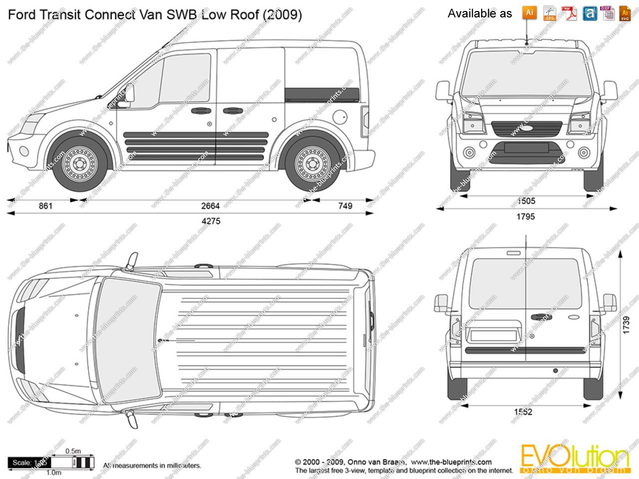 ford transit connect 2002 pics