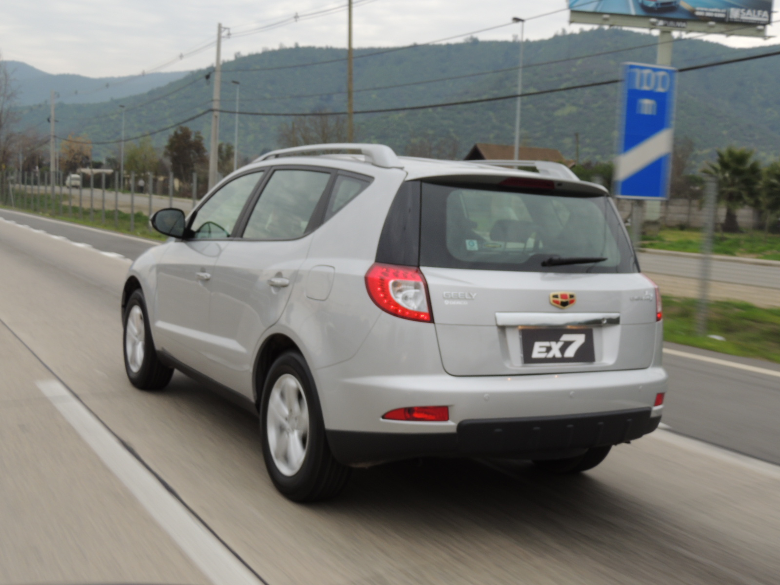 geely ex 7 images #8