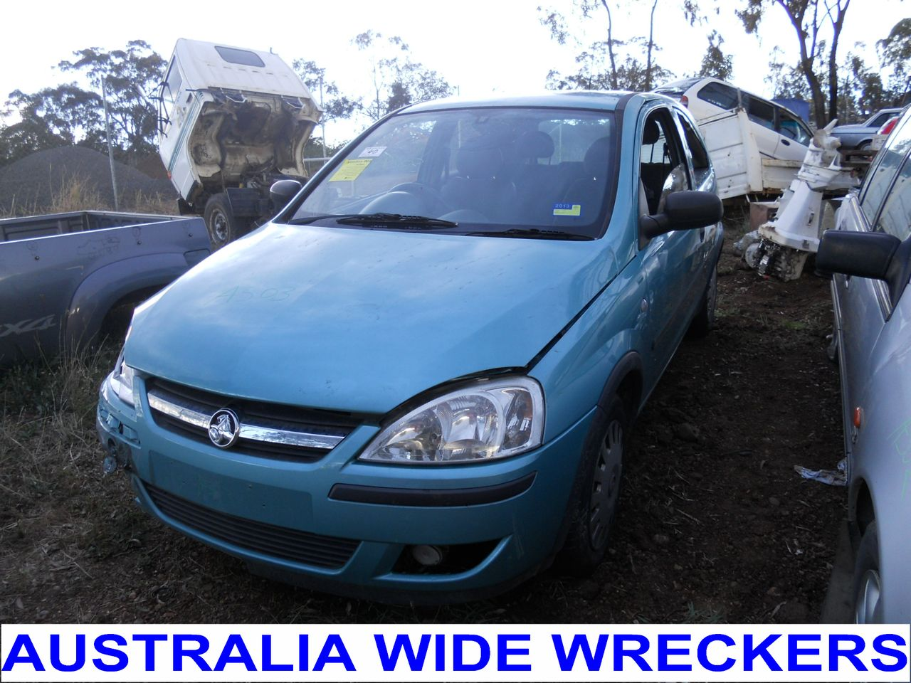 holden barina (xc) 2001 pictures