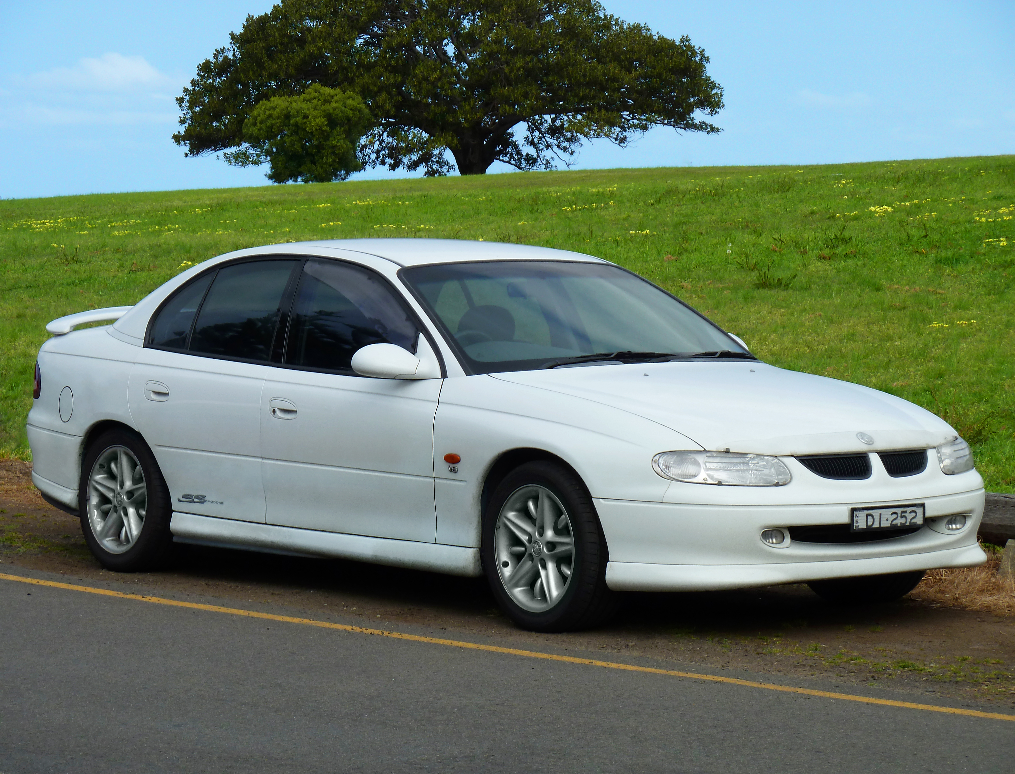 holden commodore (vt) 2007 images #1