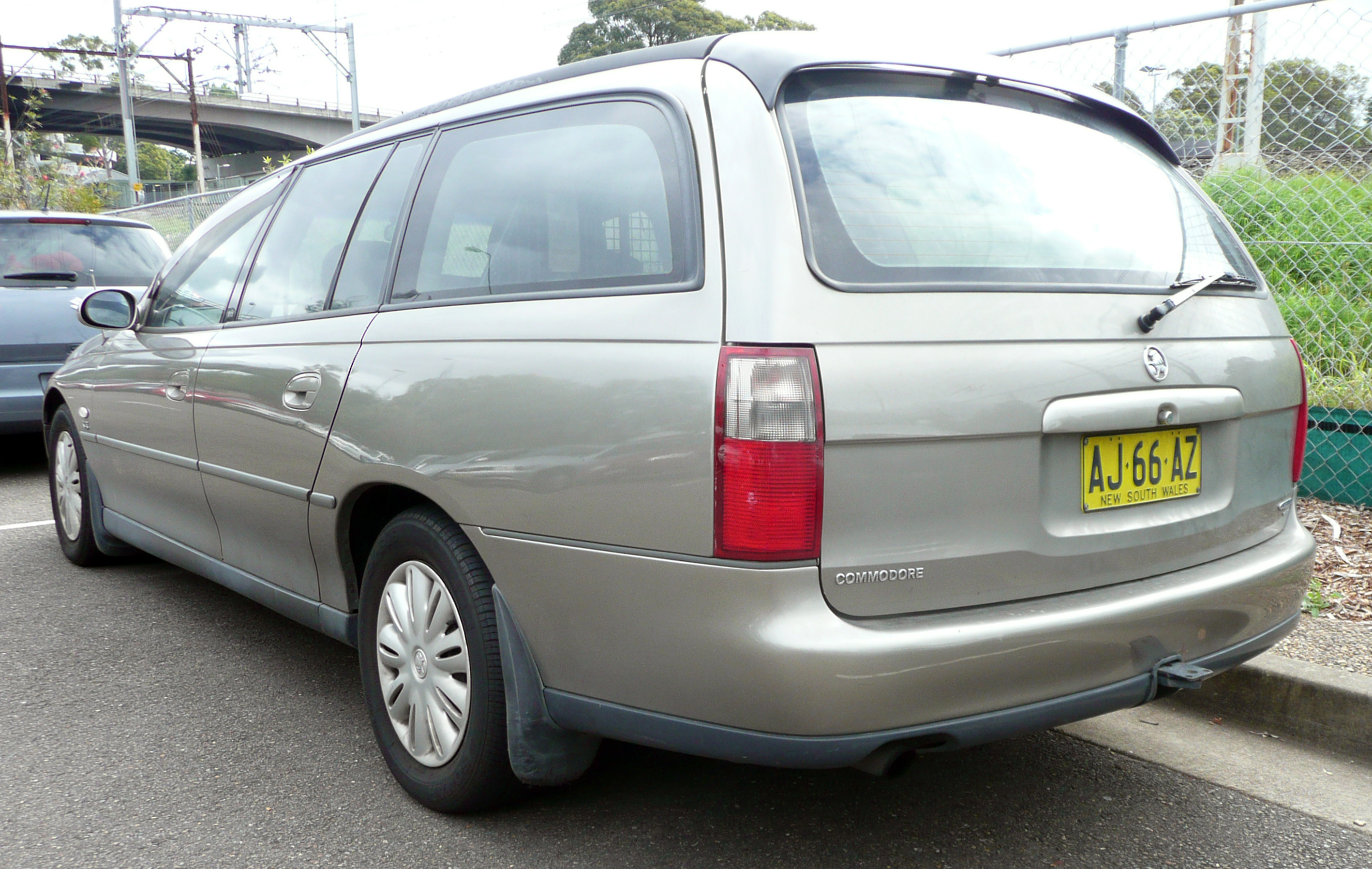holden commodore wagon (vt) 1999 images #7