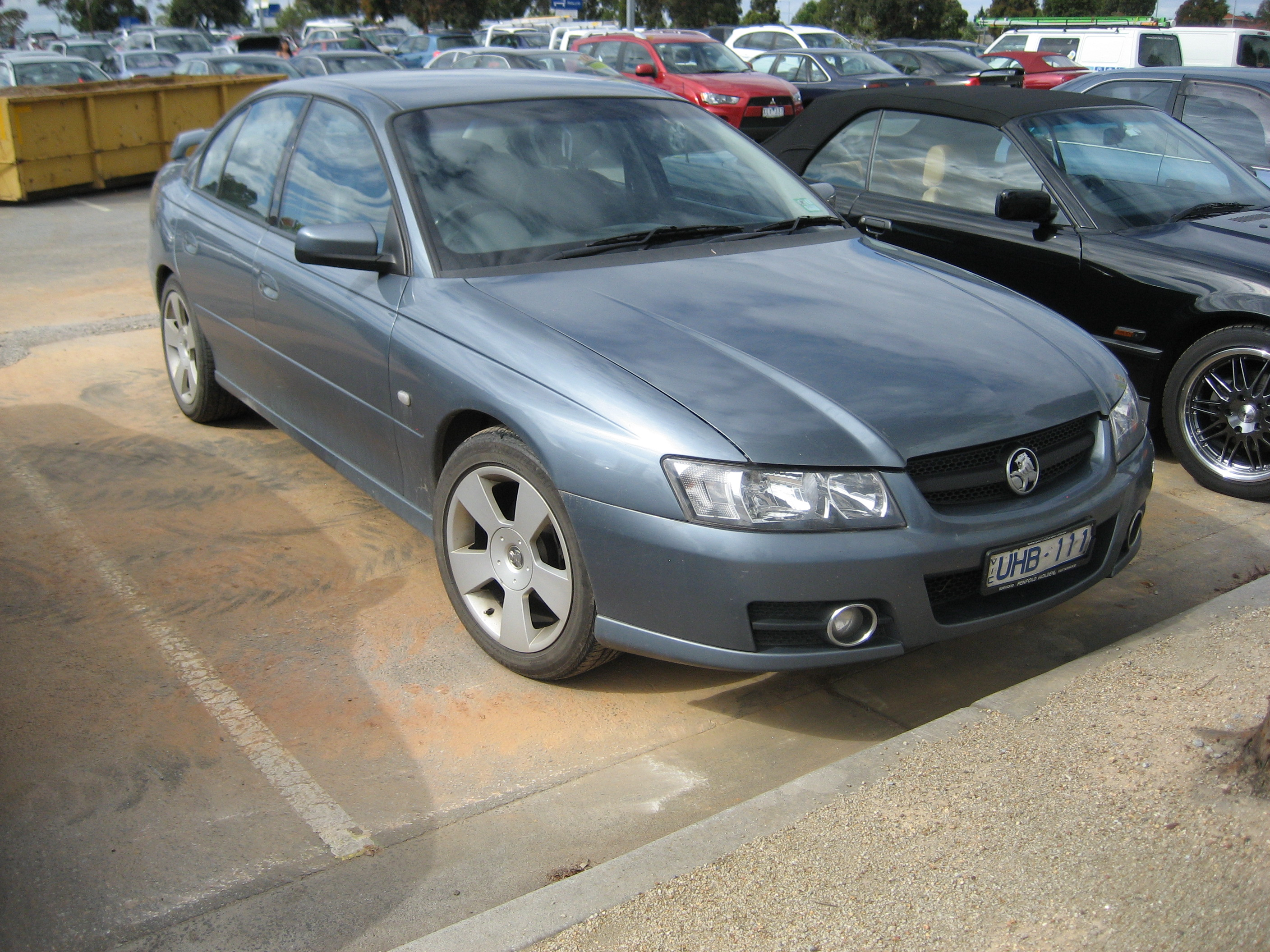 2005 Holden Commodore wagon (vt) – pictures, information and specs