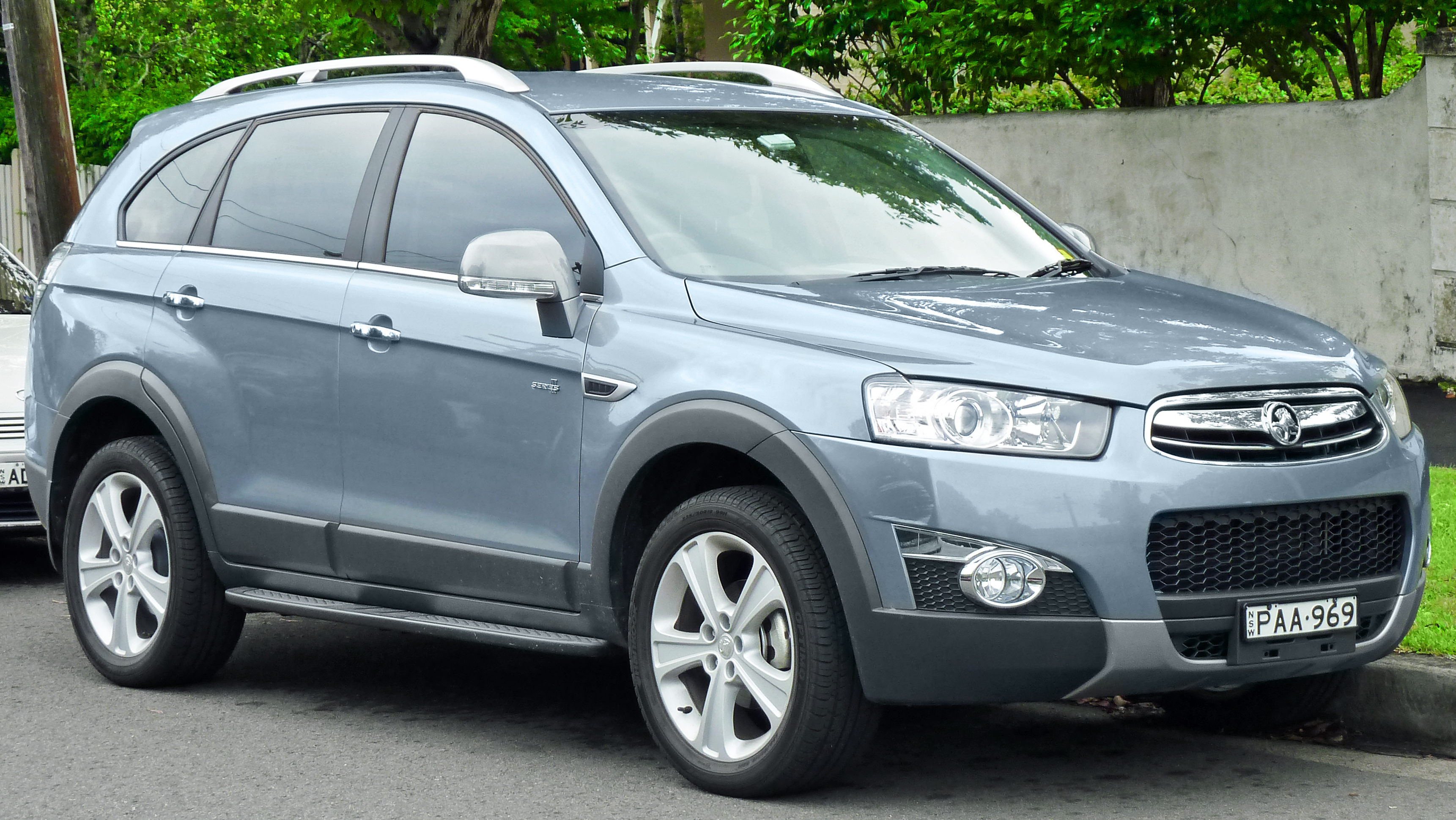 holden frontera (4-type) 2011 images