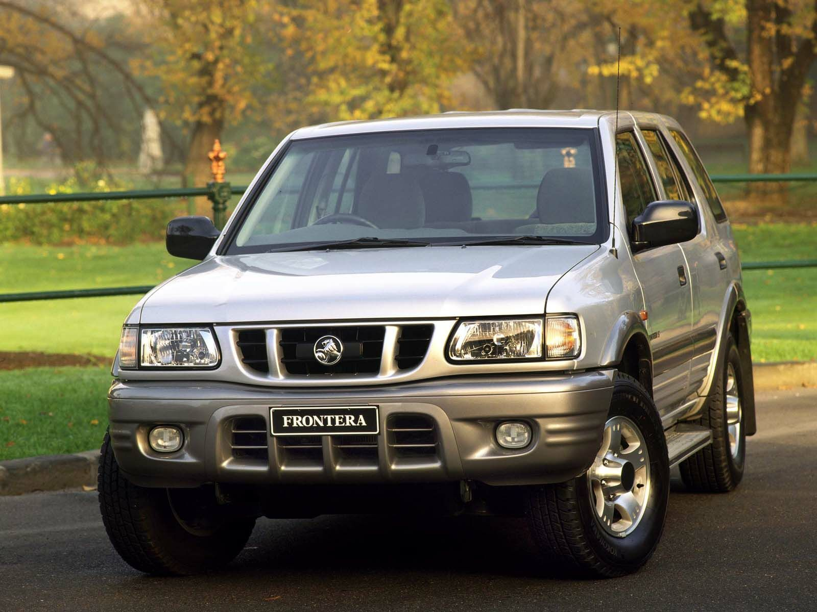 holden frontera images #14