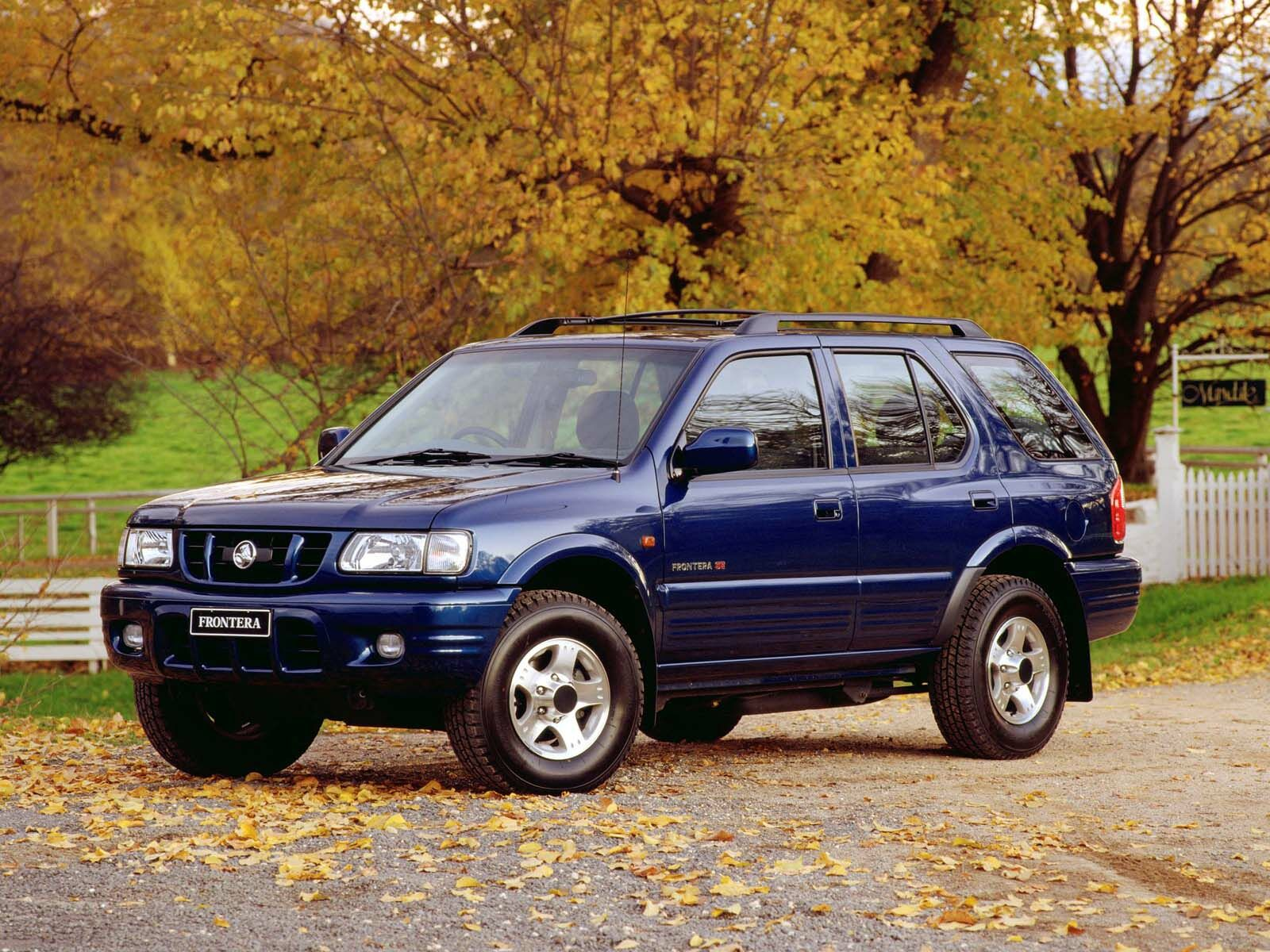 holden frontera pictures #1