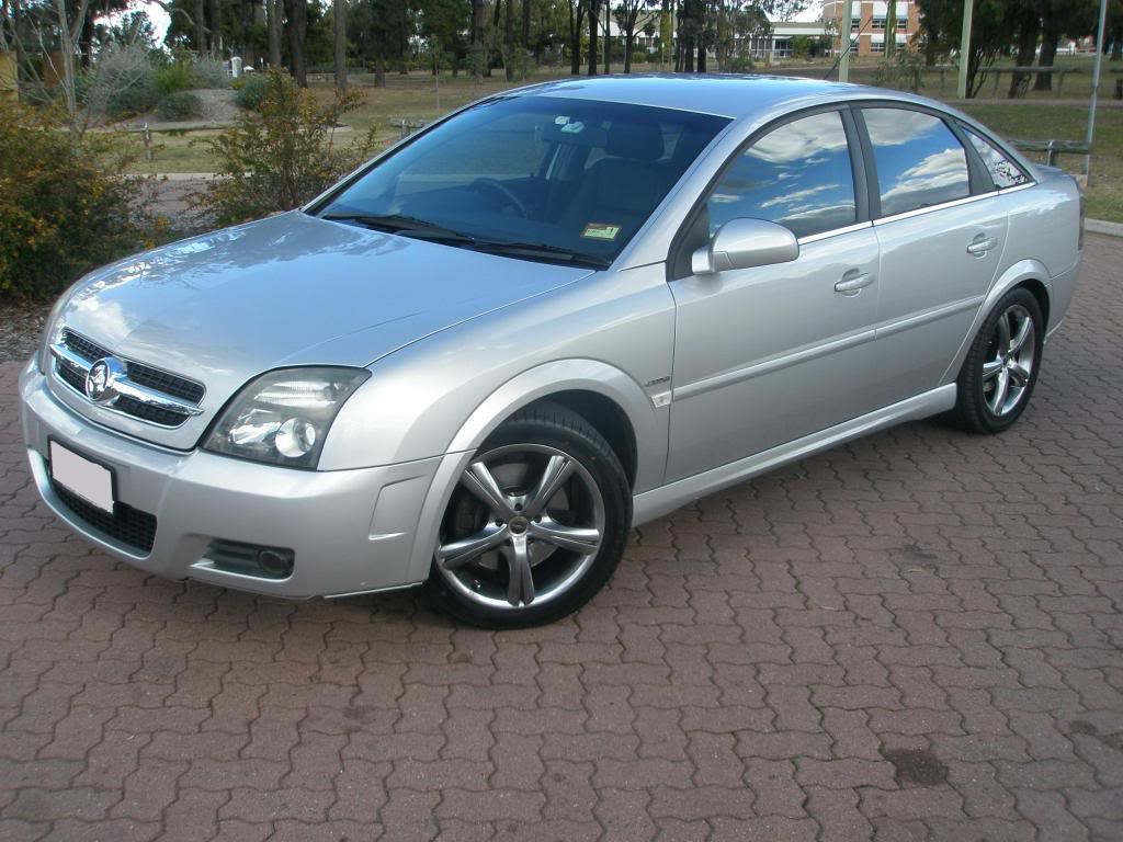 holden vectra (b) 2004
