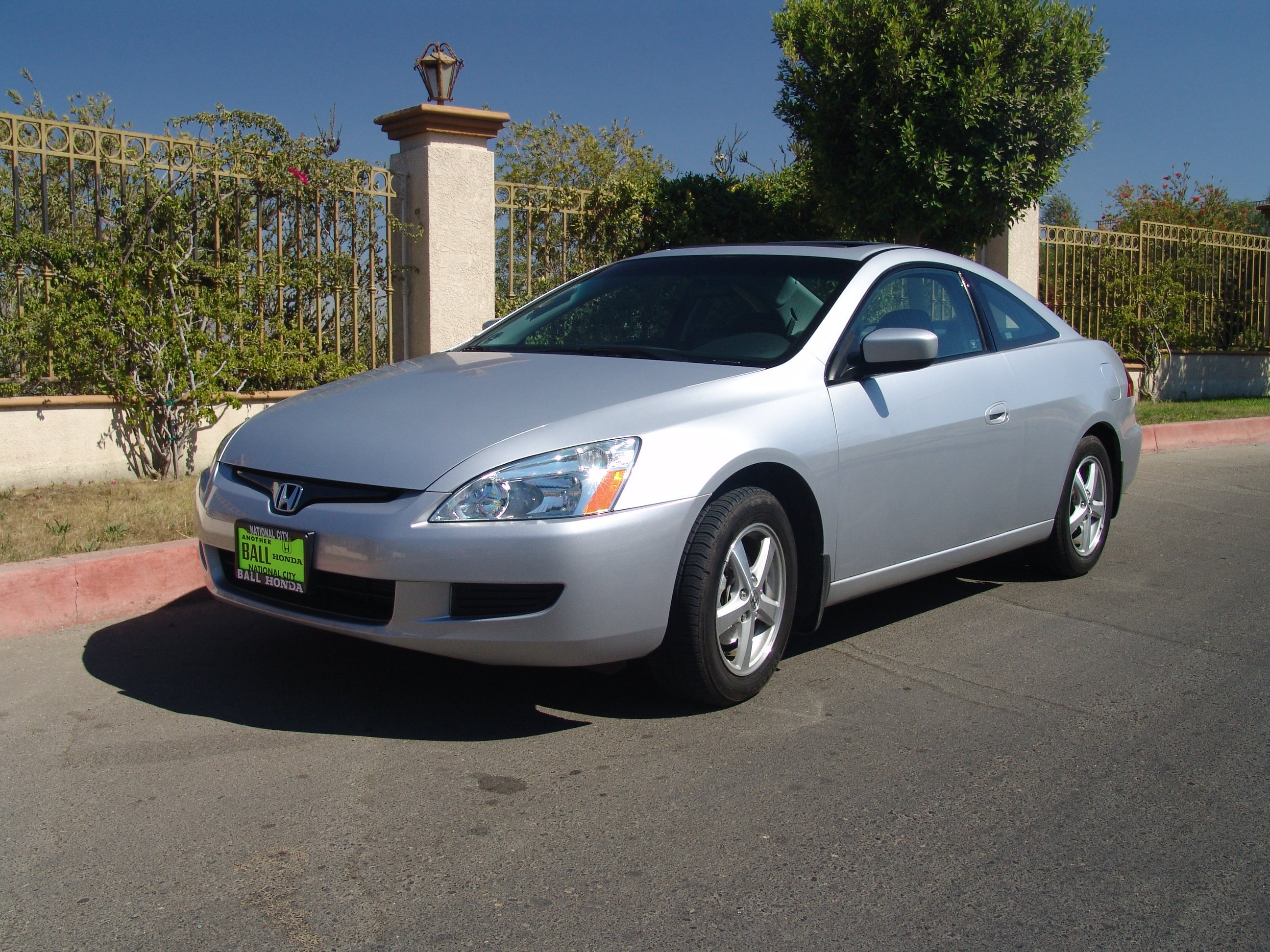 Honda Accord Vii Coupe 2003 Pictures #2