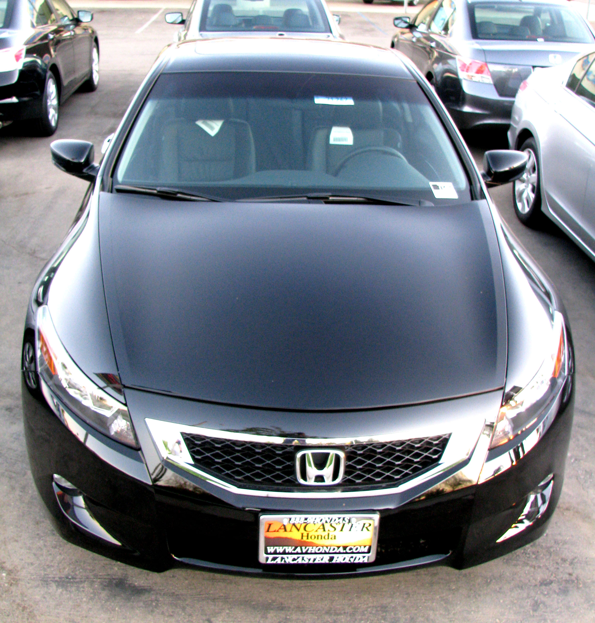 honda accord viii coupe 2009 pictures #4