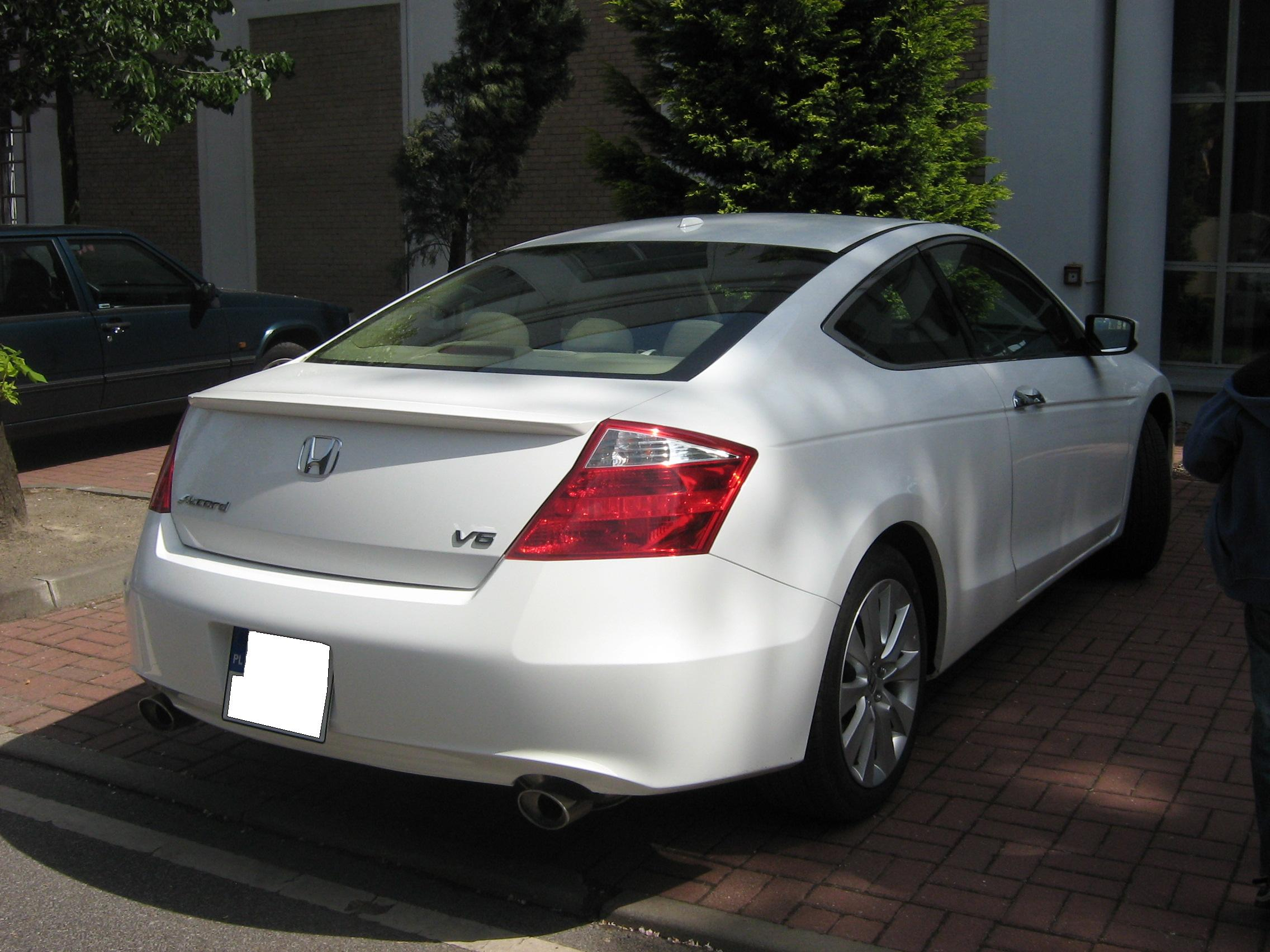 2009 Honda Accord viii coupe - pictures, information and specs - Auto-Database.com