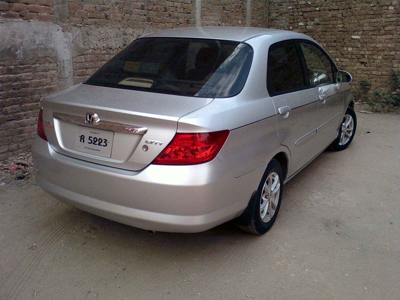 honda city sedan 2005 wallpaper #7