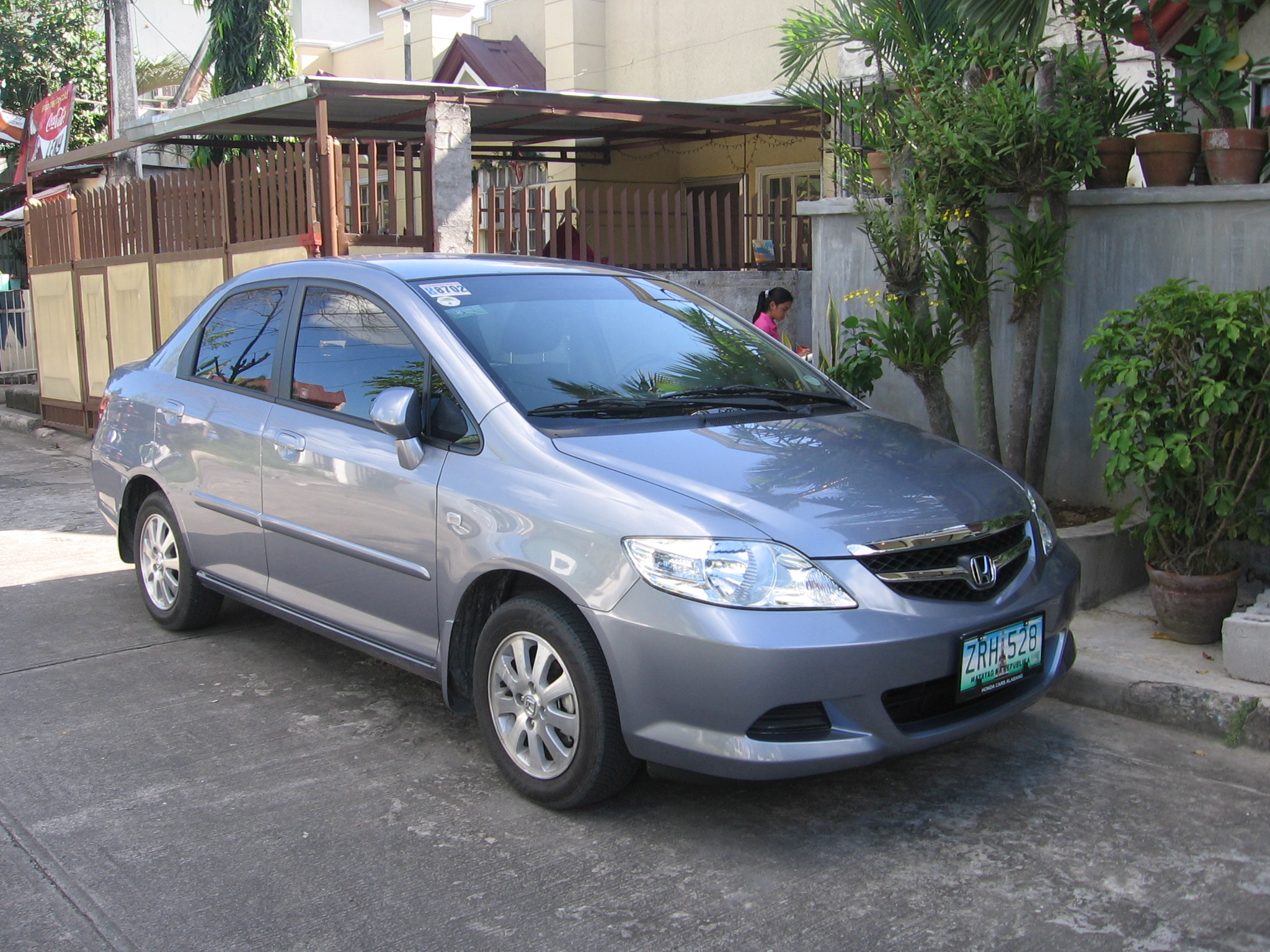 honda city zx sedan 2008 wallpaper