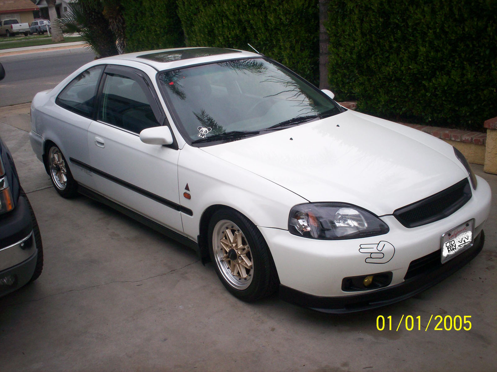 honda civic coupe vi 1997 #13