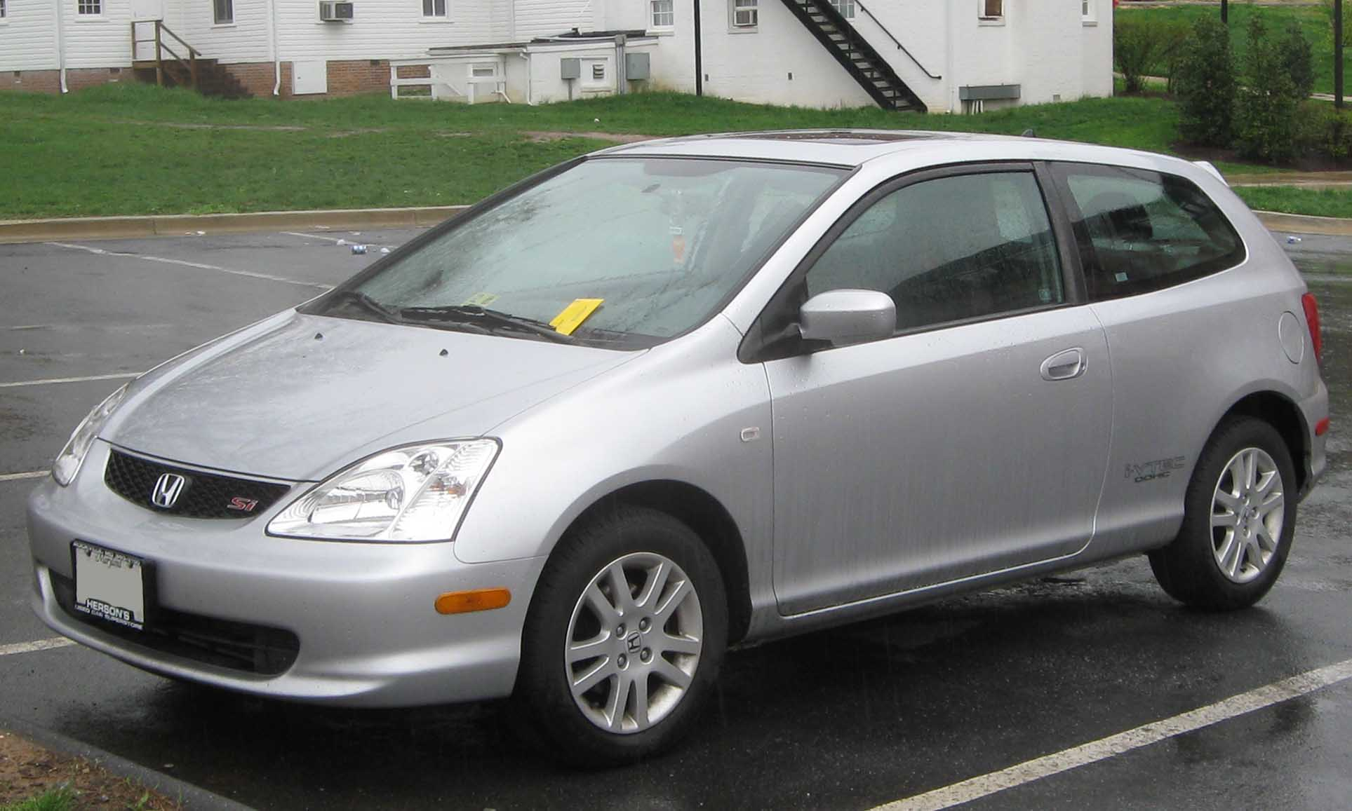 honda civic coupe vii 2002 pictures #2