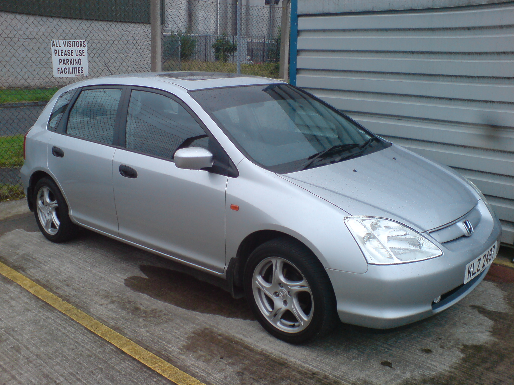 honda civic coupe vii 2003 pictures