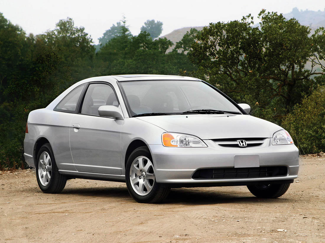 Honda Civic Coupe Vii 2004 Pictures #15