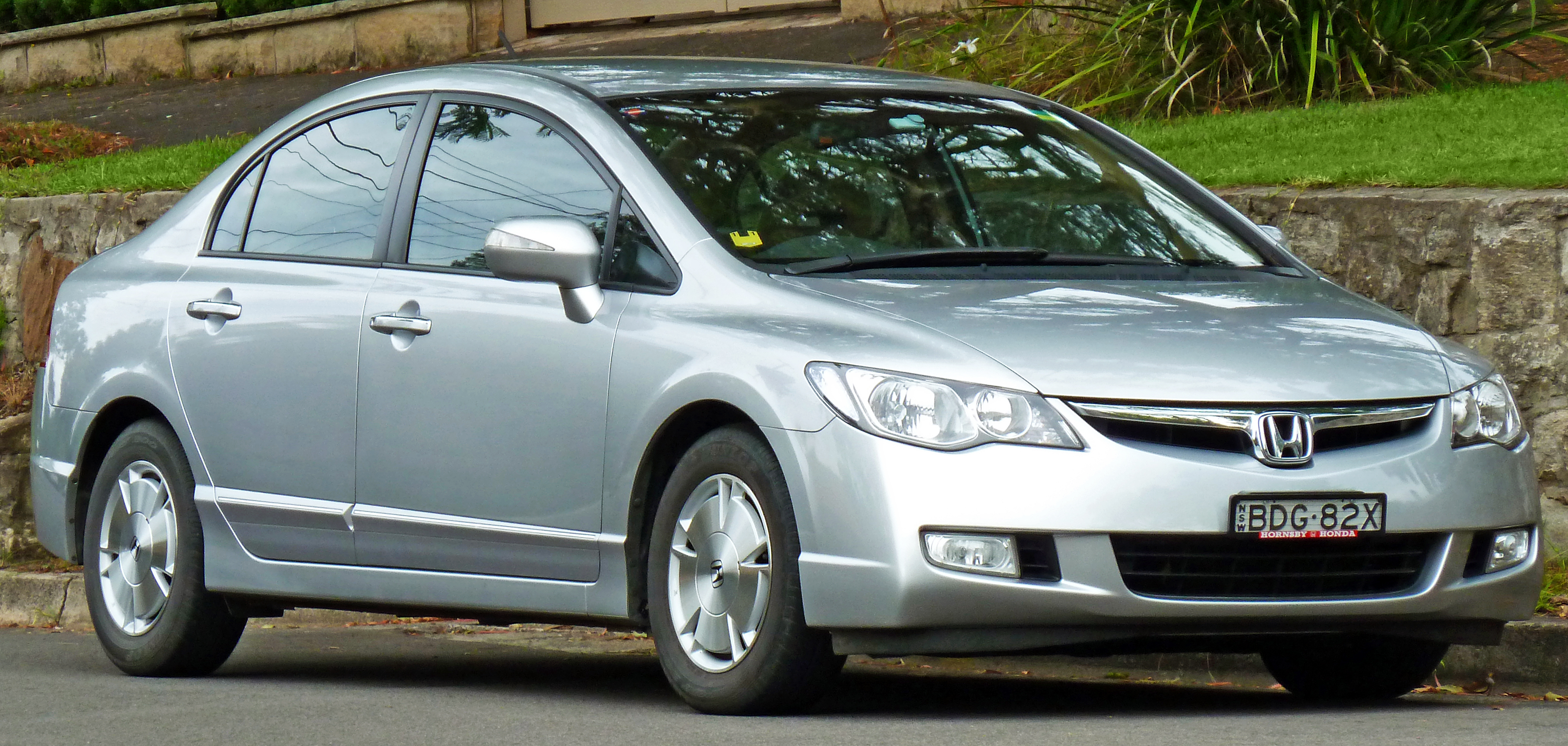 Honda Civic Hybrid Viii 2007 Models 1