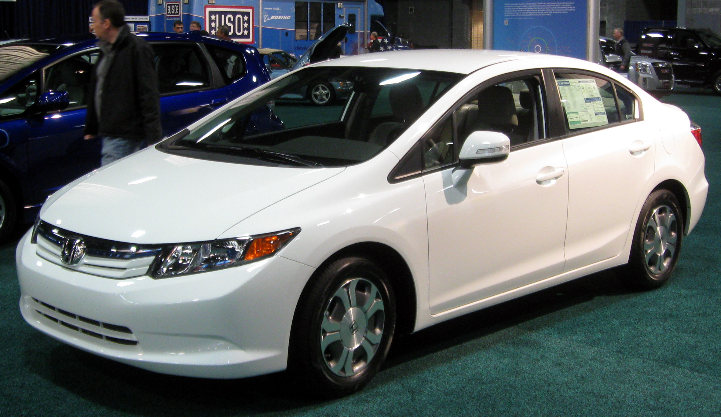 Honda Civic Hybrid Viii 2010 Models 4