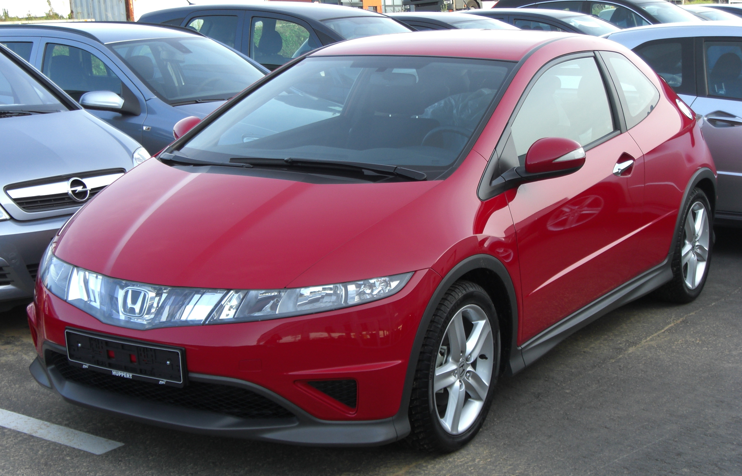honda civic type-r hatchback (fn2) 2007 pictures