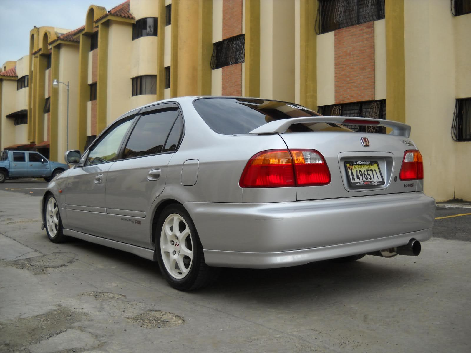 2000 Honda Civic vi – pictures, information and specs ...