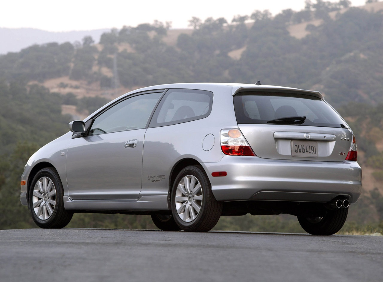 honda civic vii 2004 #10
