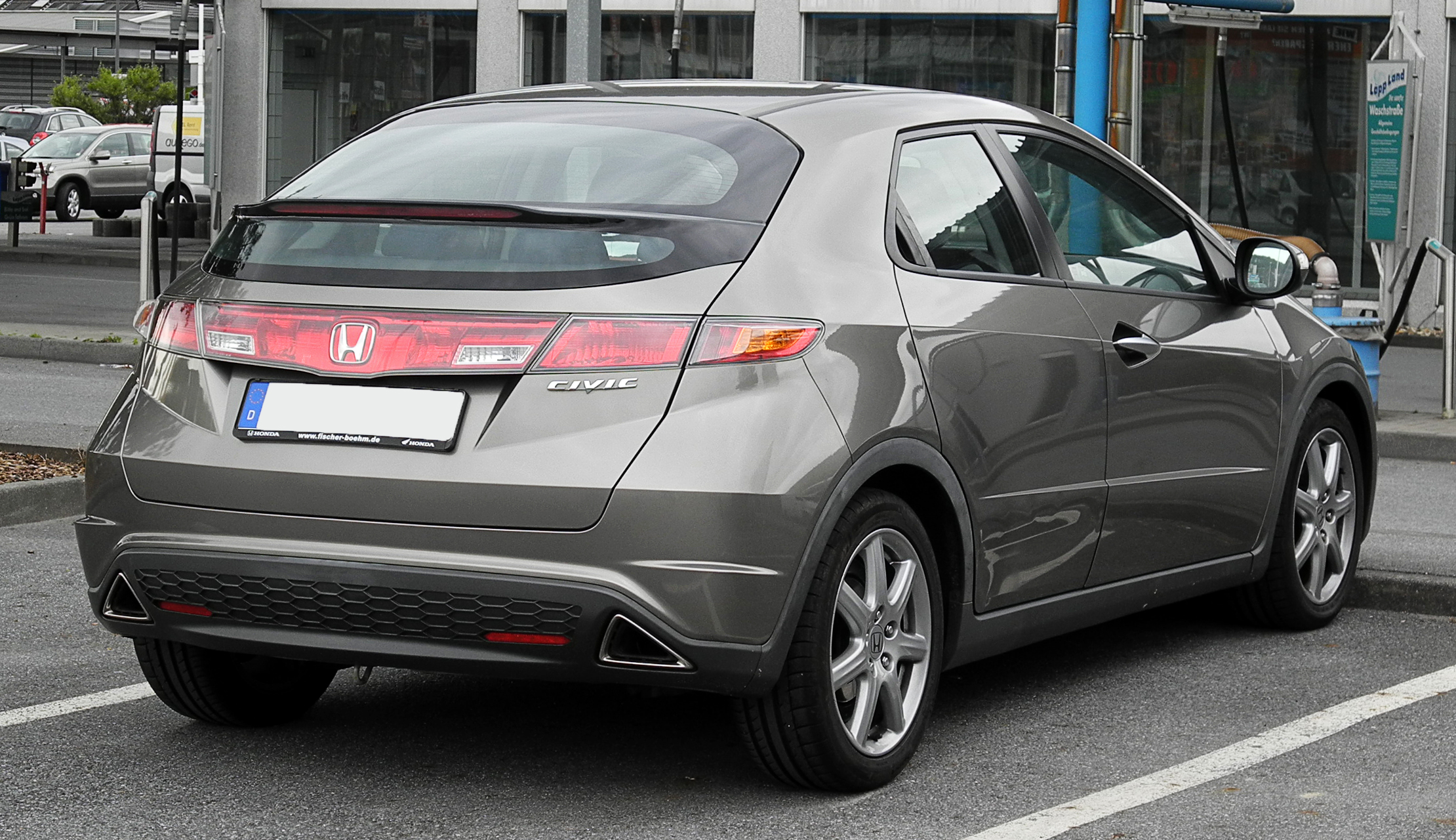 honda civic viii 2009 wallpaper #3