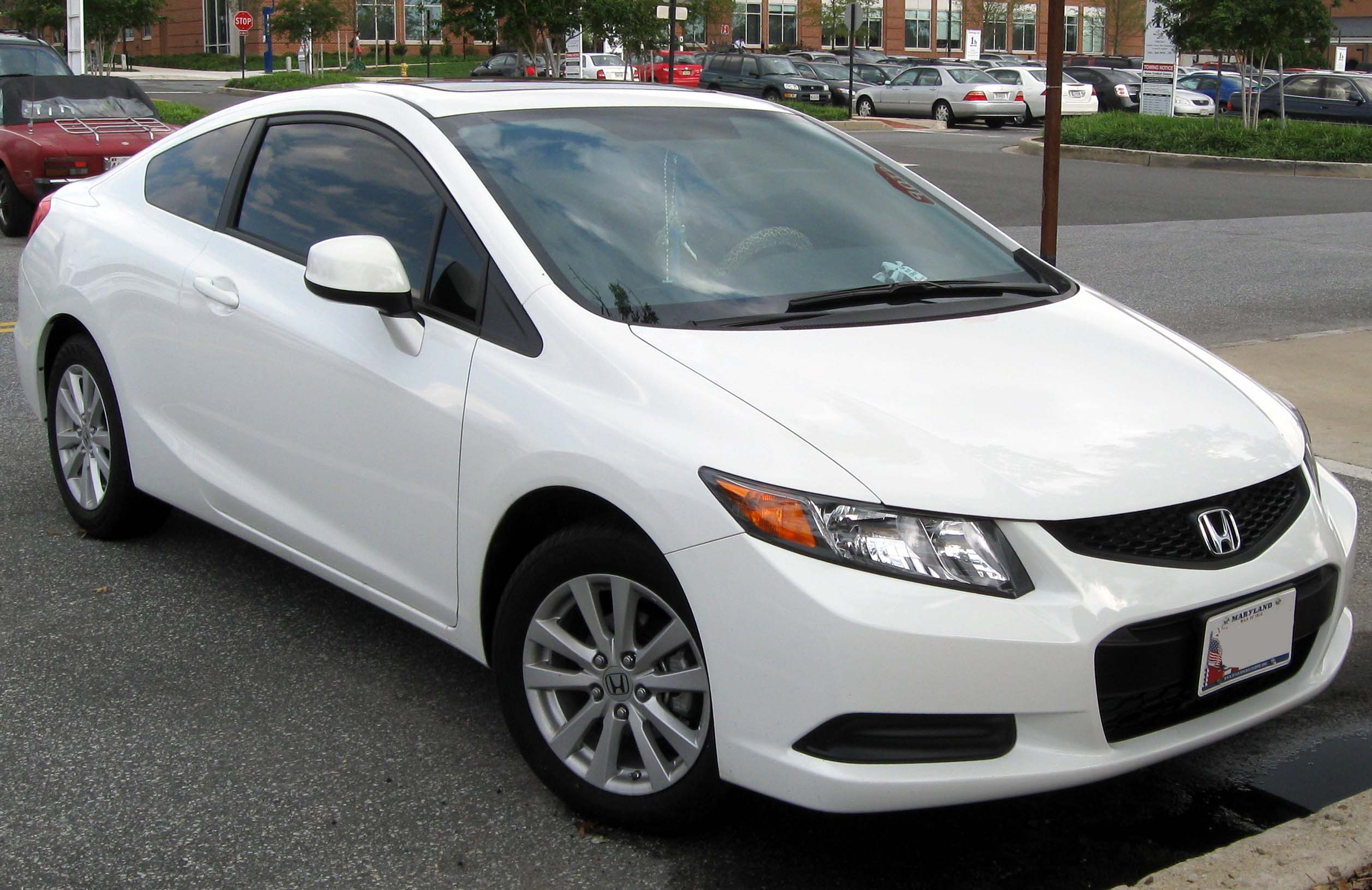 honda civic viii coupe 2012
