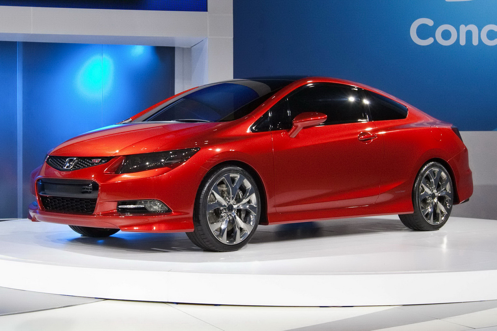 honda civic viii coupe 2012 pictures