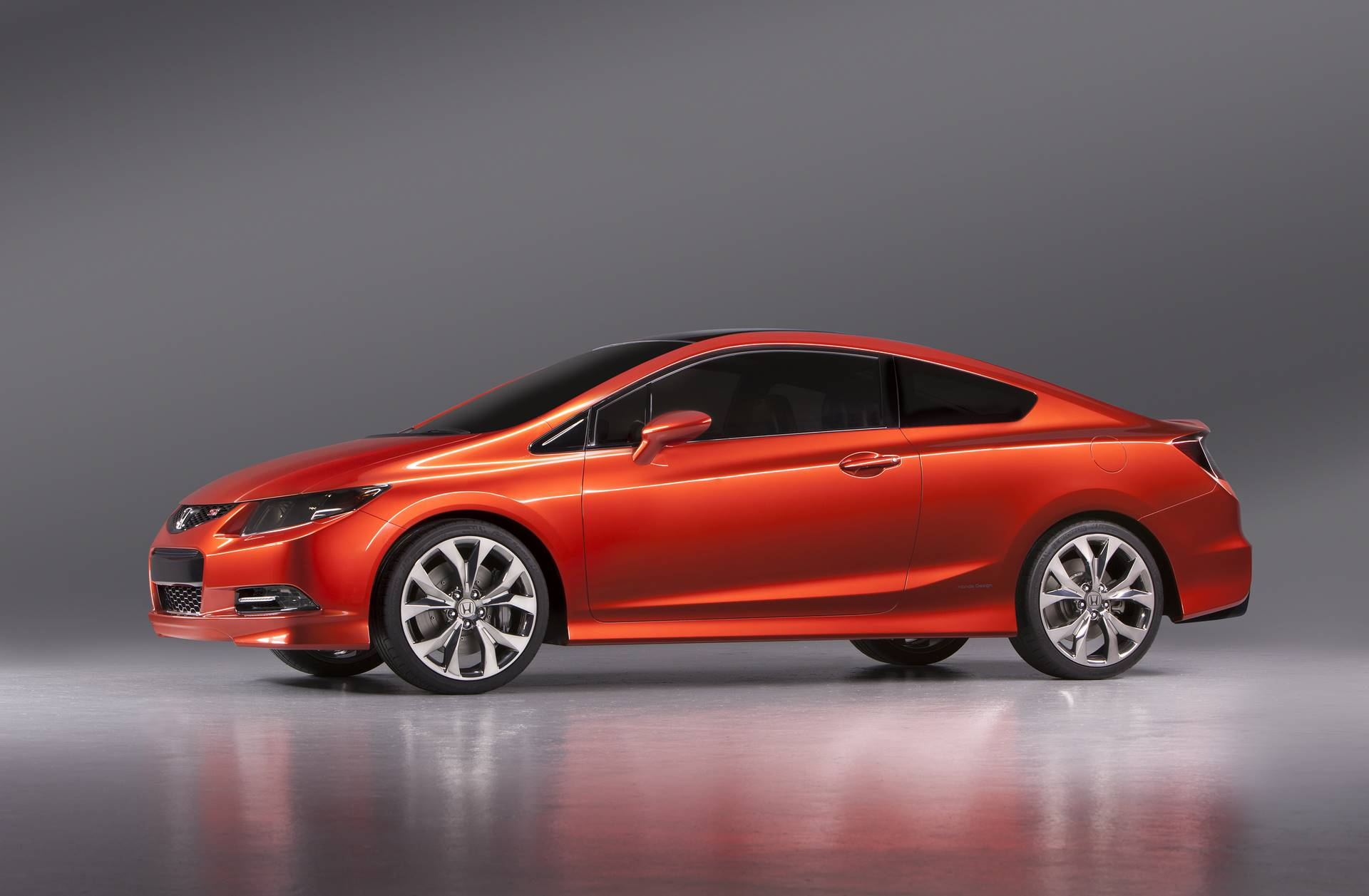 honda civic viii coupe 2012 wallpaper