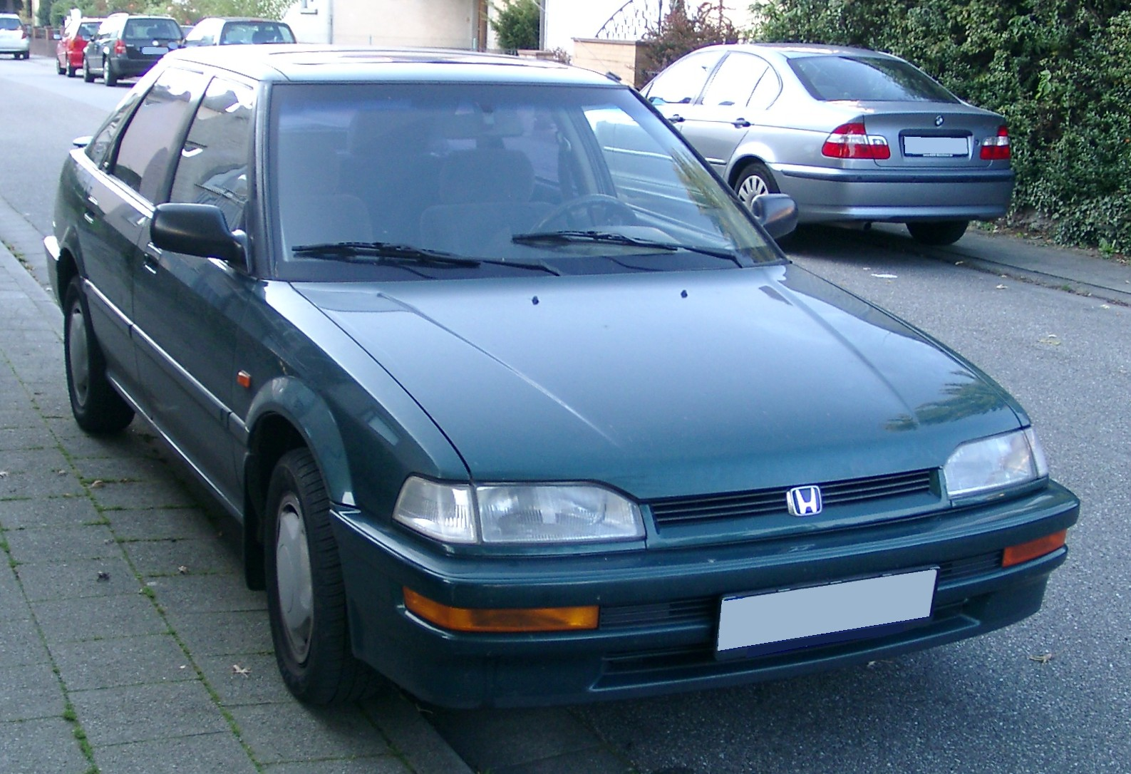 honda concerto (hw) 1991 pictures